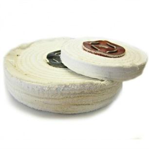 Disque à polir fils de coton
