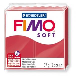 Fimo Soft 57 g rouge cerise