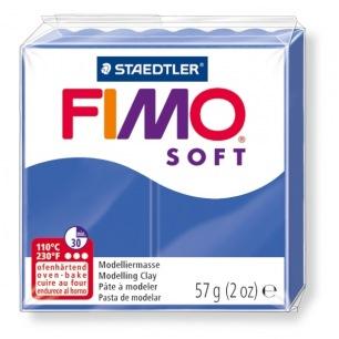 Fimo Soft 57 g bleu brillant