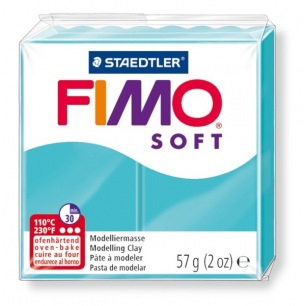 Fimo Soft 57 g veert menthe