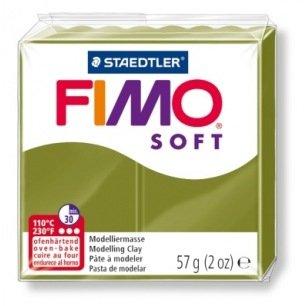 Fimo Soft 57 g vert olive