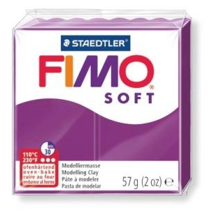 Fimo Soft 57 g pourpre