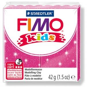 Fimo KIDS Glitter Fushia
