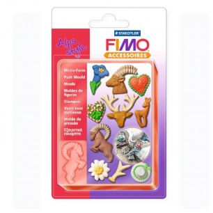 Moule flexible Fimo (Push mould)