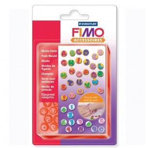 Moule FIMO lettre & chiffre