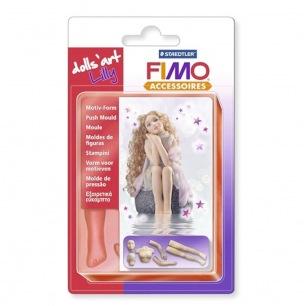 Moule FIMO poupée